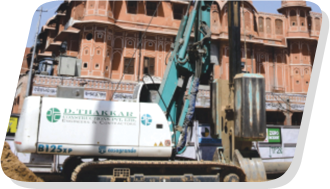 Diaphragm Wall for Jaipur Metro Rail Corporation
