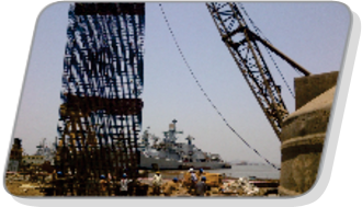Diaphragm wall at Naval Dockyard, Mumbai