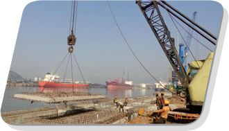 Diaphragm Wall & Piling for Visakhapatnam Port Trust